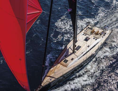 Prova di navigazione dello Swan 58