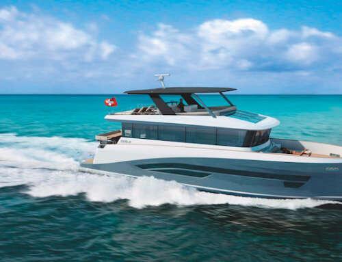 Eegle, yacht full electric di 20 metri