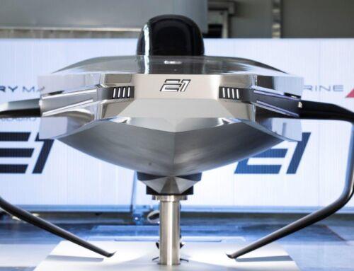 E1 Series svela il modello 1:1 del RaceBird