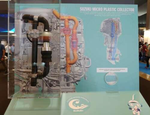 Suzuki Micro Plastic Collector vince la seconda edizione del Design Innovation Award