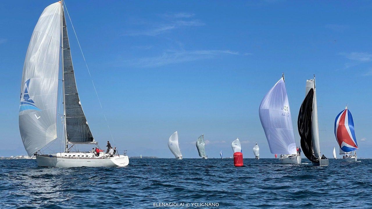 Il J44 Luli si aggiudica sia la Punta Faro Cup sia la Juris Cup