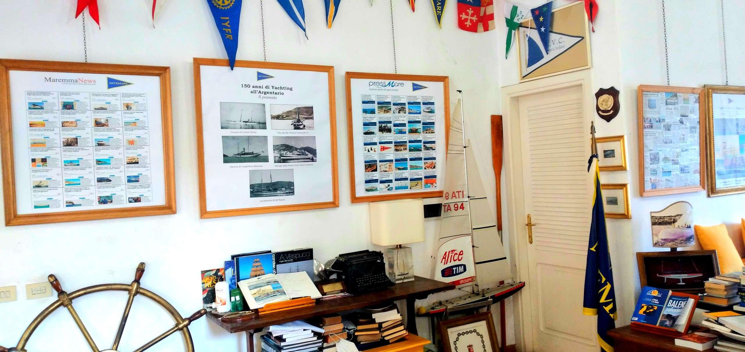 Ultimi giorni all'Argentario per la mostra 150 anni di Yachting ad Artemare Club