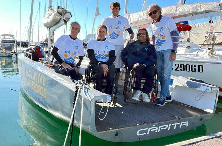 Sea4All: Càpita e il team inclusivo si confermano vittoriosi alla Punta Faro Cup 2021 a Lignano Sabbiadoro