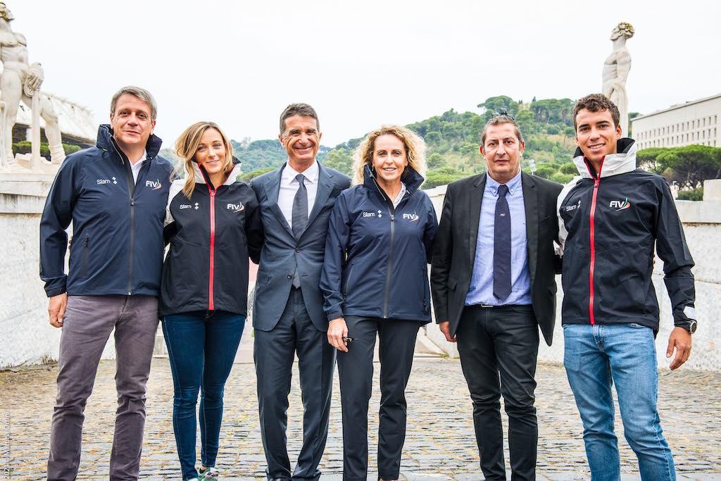 Slam è il fornitore ufficiale e lo sponsor tecnico della Federazione Italiana Vela